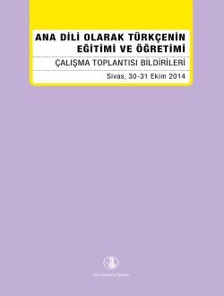 Ana Dili Olarak Türkçenin Eğitimi ve Öğretimi, 2017