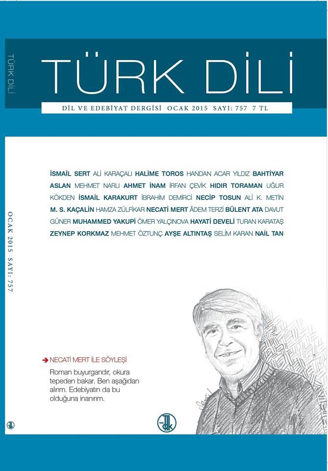 Türk Dili (Ocak 2015), 2015