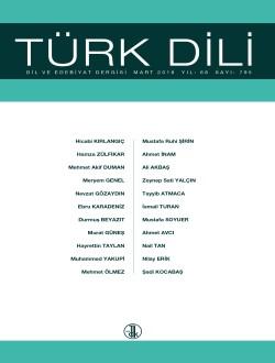 Türk Dili (Mart 2018), 2018