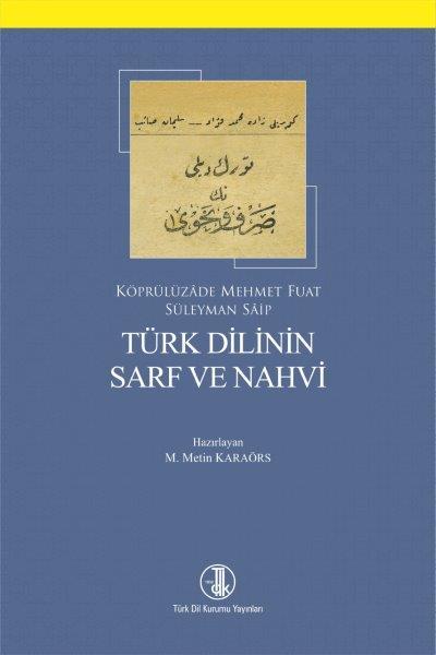 Türk Dilinin Sarf ve Nahvi, 2018