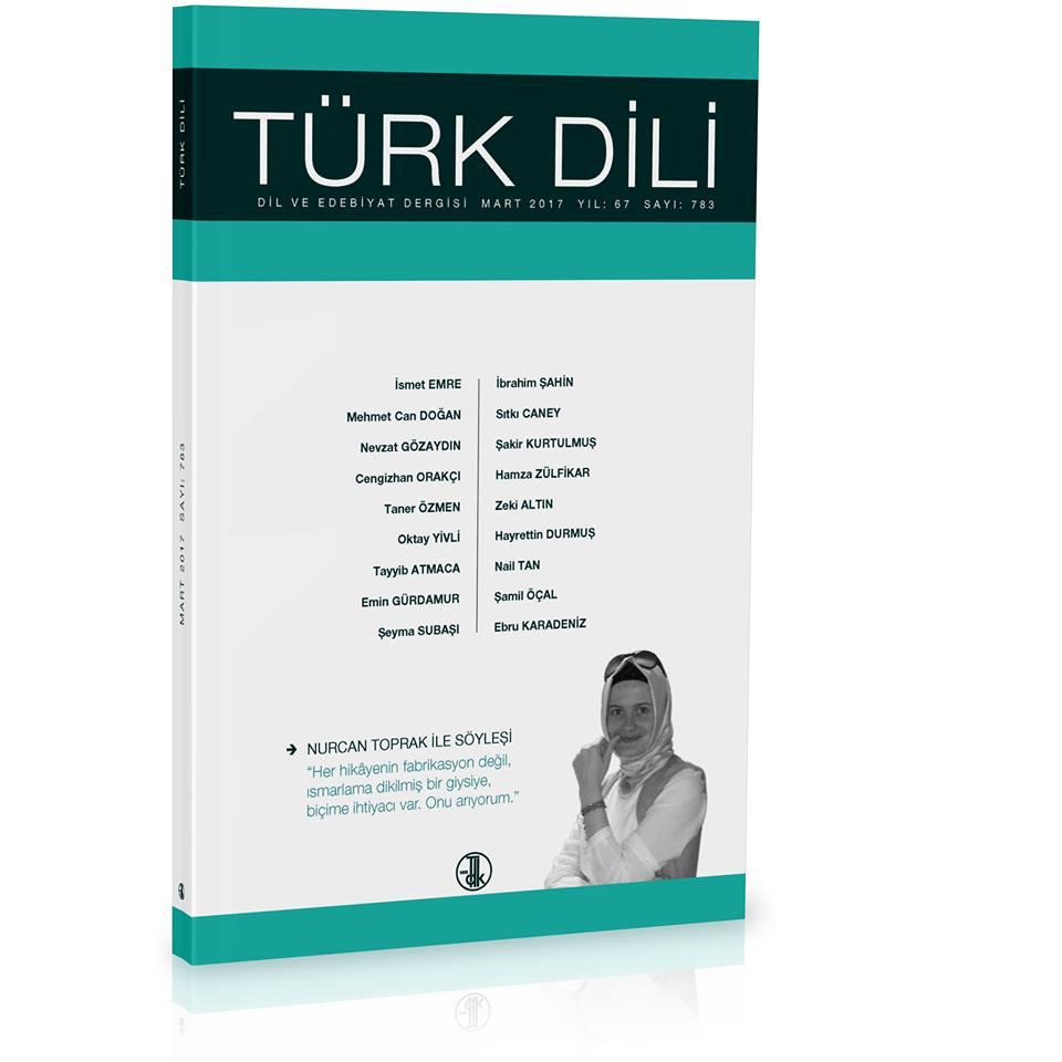 Türk Dili (Mart 2017), 2017