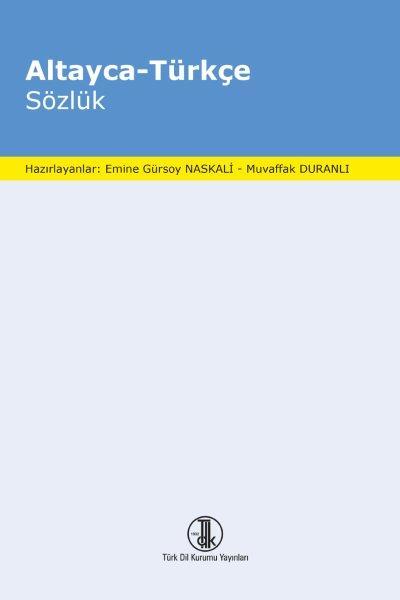 Altayca-Türkçe Sözlük, 2020