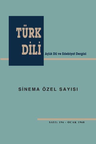 Türk Dili Sinema Özel Sayısı, 2020