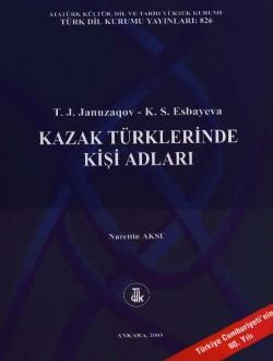 Kazak Türklerinde Kişi Adları, 2003