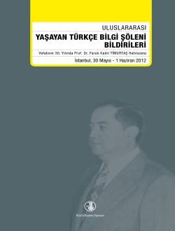 Uluslararası Yaşayan Türkçe Bilgi Şöleni, 0