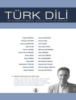 Türk Dili (Ocak 2018), 2018