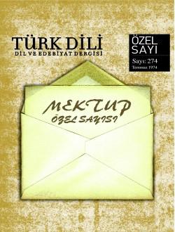 Türk Dil Dergisi Mektup Özel Sayısı, 2017