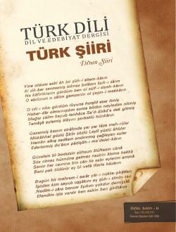Türk Dili Dergisi Türk Şiiri Özel Sayısı 2- Divan Şiiri, 2017