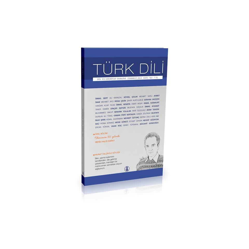 Türk Dili (Temmuz 2015), 0