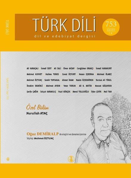 Türk Dili (Eylül 2014), 2014