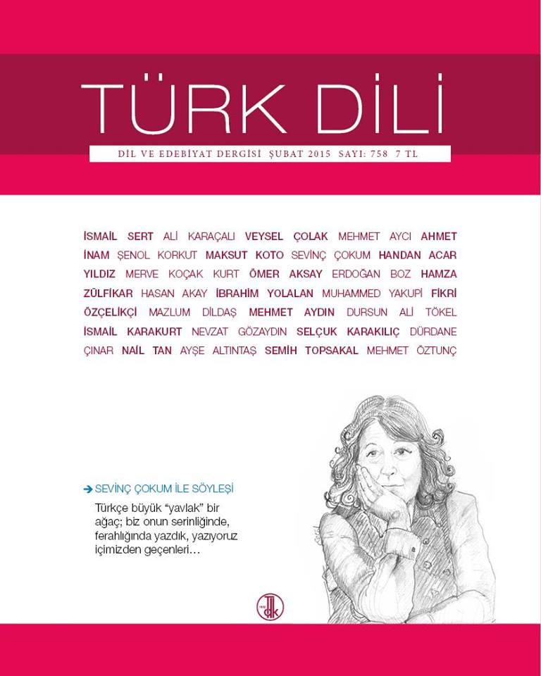 Türk Dili (Şubat 2015), 2015