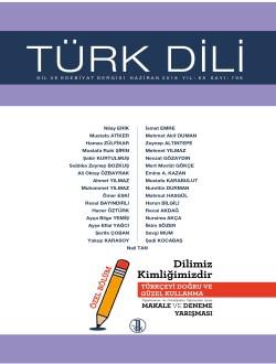 Türk Dili (Haziran 2018), 2018