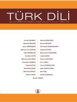 Türk Dili (Ağustos 2017), 2017