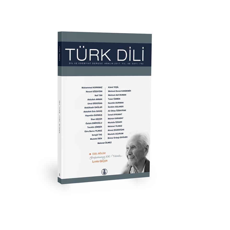 Türk Dili (Aralık 2017), 0