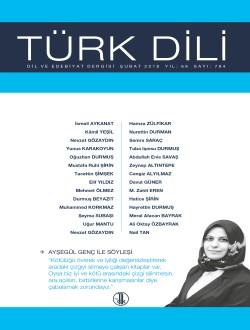 Türk Dili (Şubat 2018), 2018
