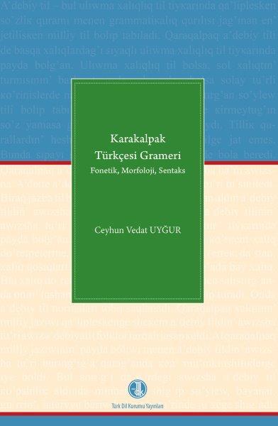 Karakalpak Türkçesi Grameri, 2018
