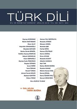 Türk Dili (Aralık 2018), 2018