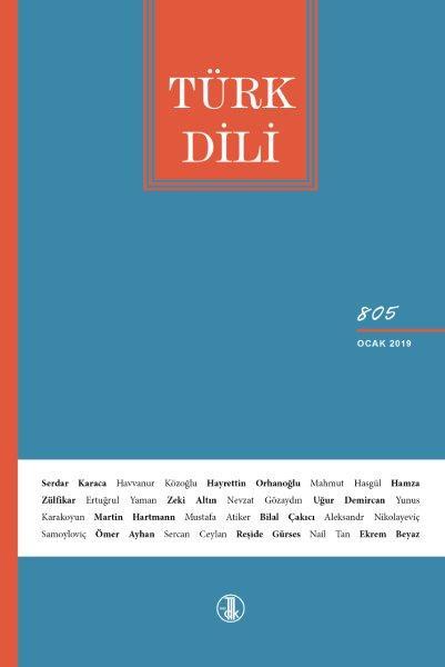 Türk Dili (Ocak 2019), 2019