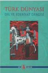 Türk Dünyası Dil ve Edebiyat Dergisi: Bahar 2002/ 13. Sayı, 0