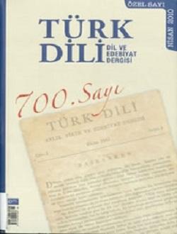 Türk Dili (Nisan 2010) 700. Özel Sayı, 2010