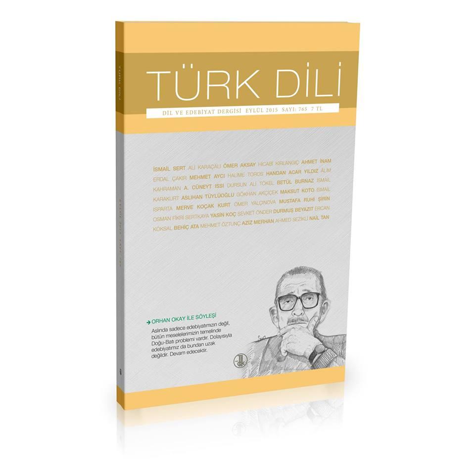 Türk Dili (Eylül 2015), 2015