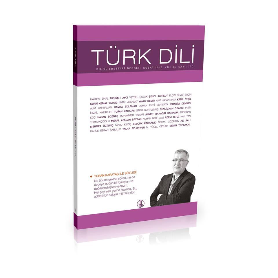 Türk Dili (Şubat 2016), 2016