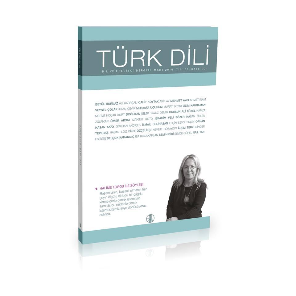 Türk Dili (Mart 2016), 2016