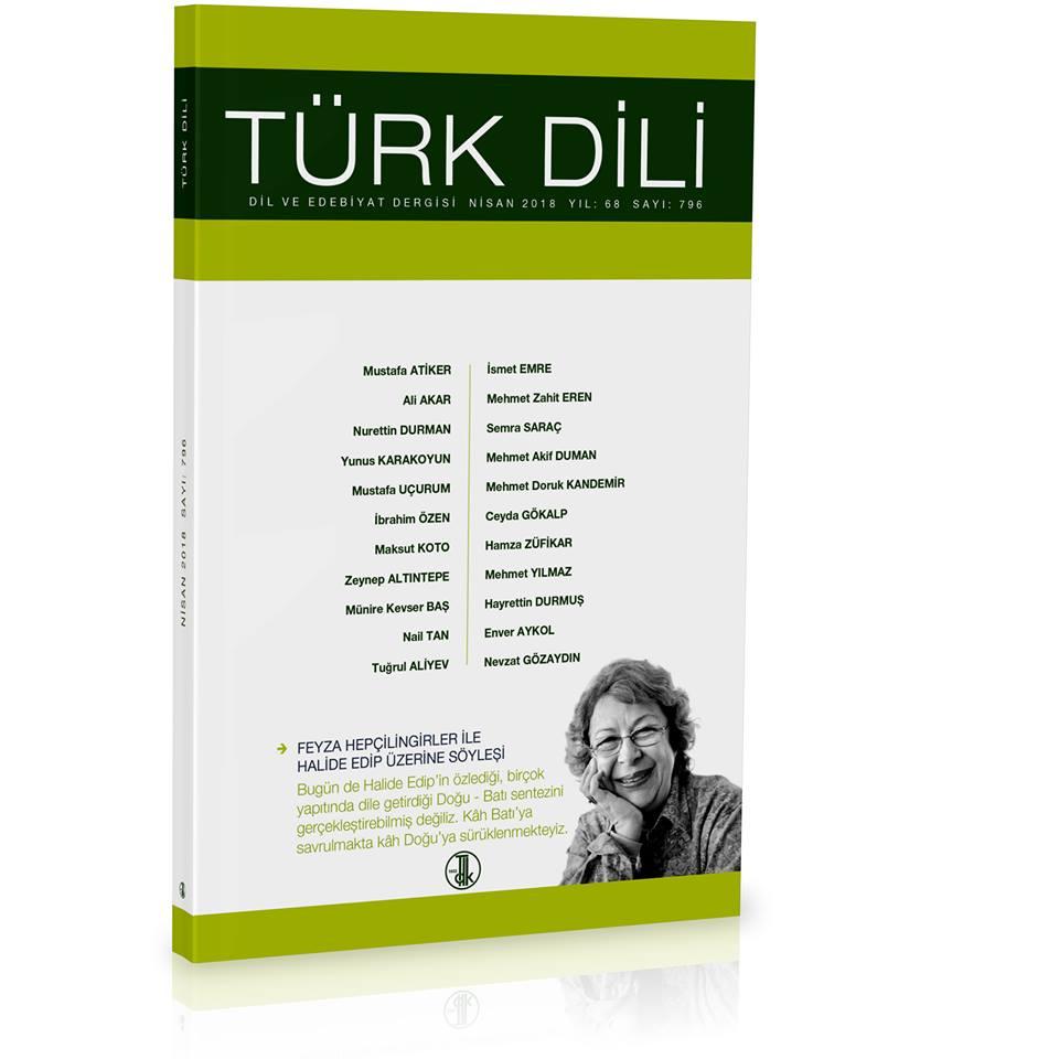 Türk Dili (Nisan 2018), 2018