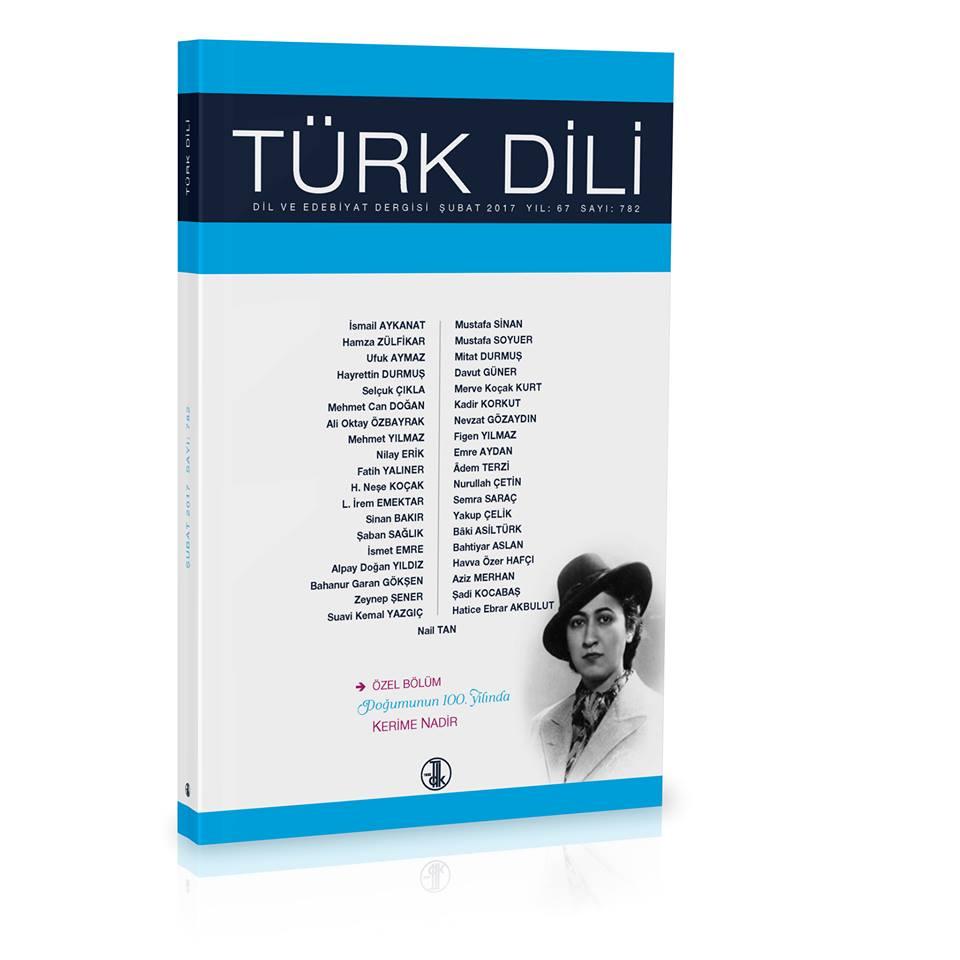 Türk Dili (Şubat 2017), 2017