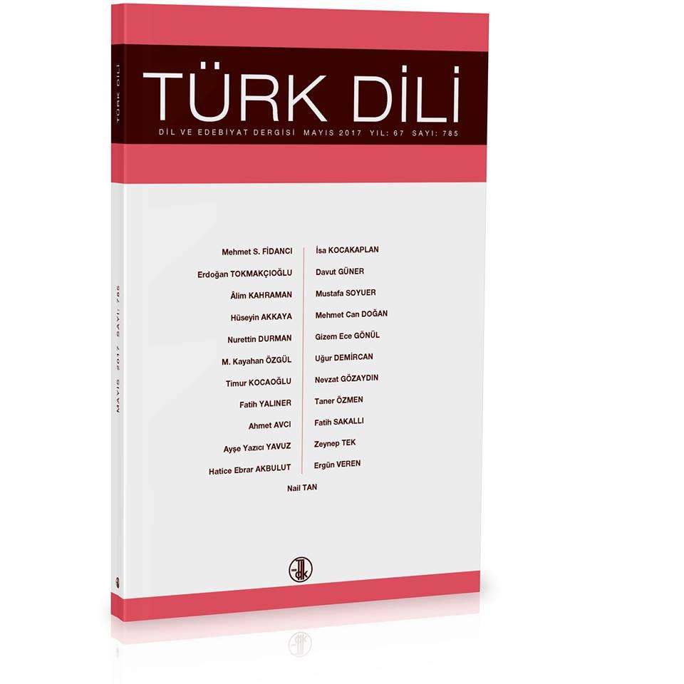 Türk Dili (Mayıs 2017), 2017