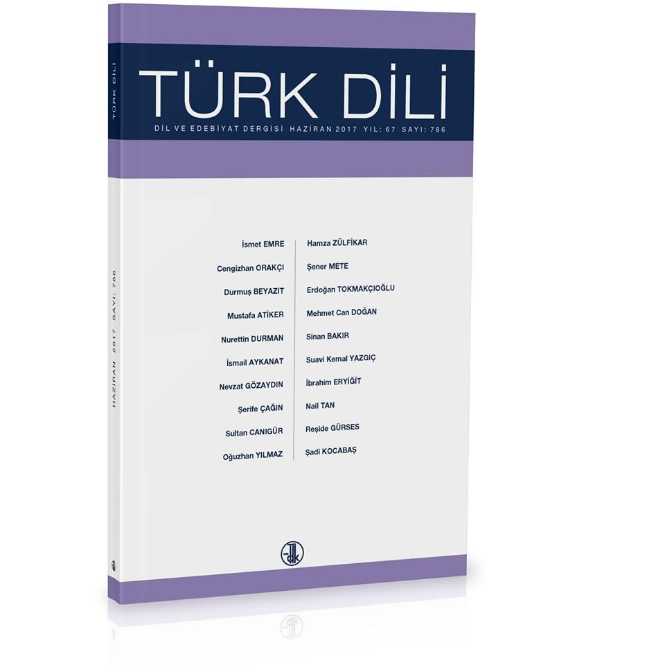 Türk Dili (Haziran 2017), 2017