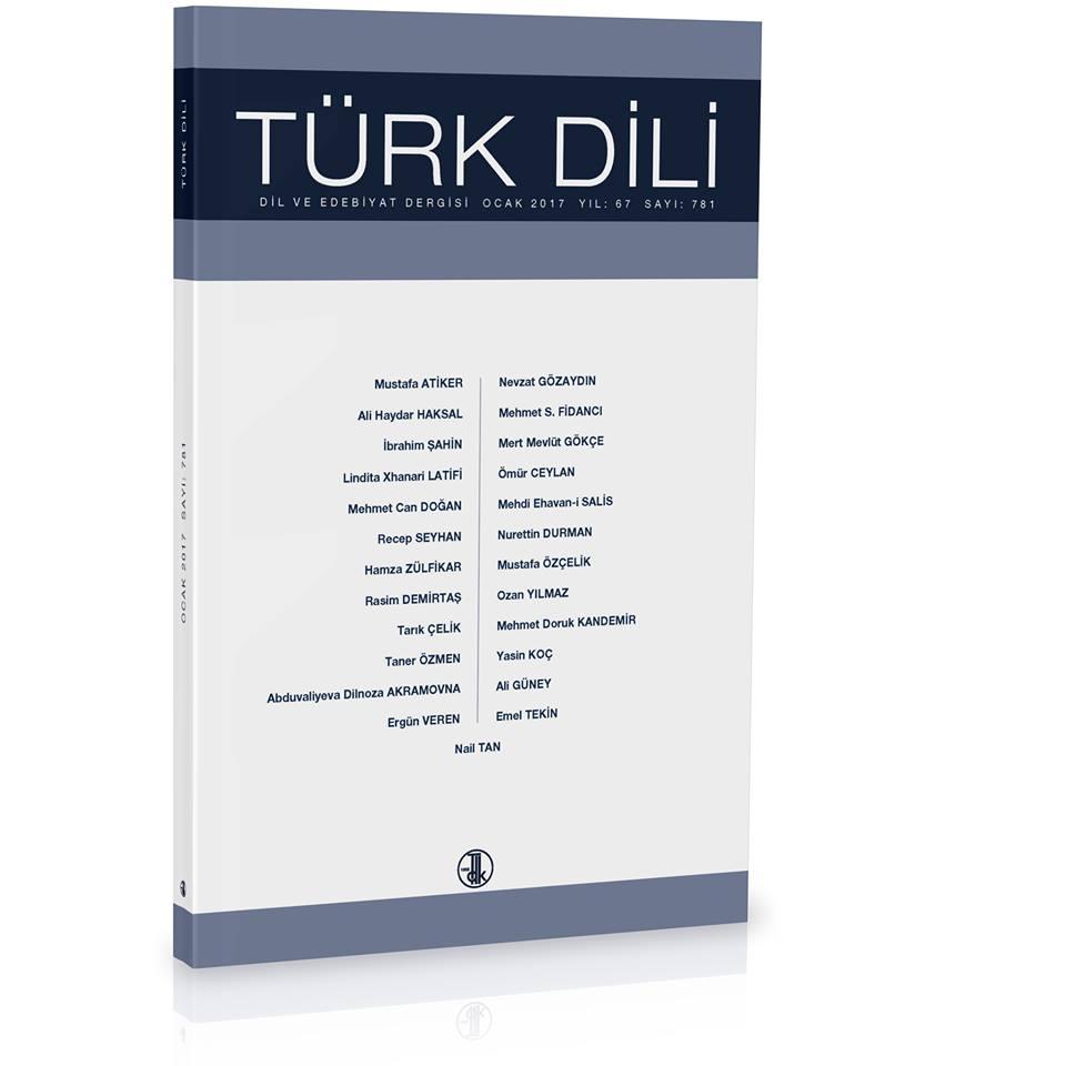 Türk Dili (Ocak 2017), 2017