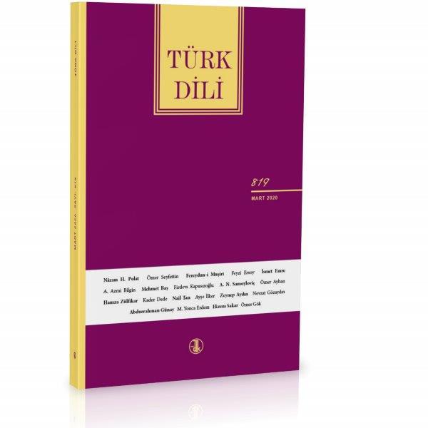 Türk Dili (Mart 2020), 2020