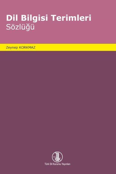 Dil Bilgisi Terimleri Sözlüğü, 2020