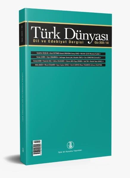 Türk Dünyası Dil ve Edebiyat Dergisi güz 2020/50, 2020