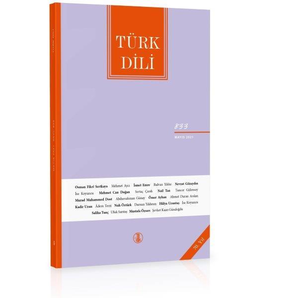 Türk Dili Dergisi Mayıs 2021, 2021