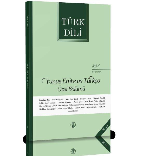 Türk Dili Dergisi Eylül 2021, 2021