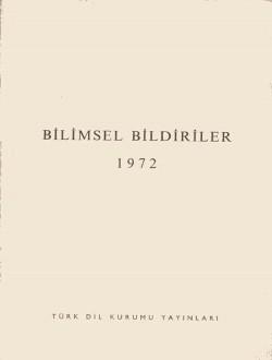 Bilimsel Bildiriler (1972), 1975