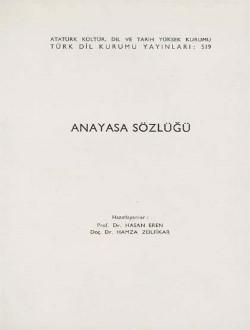 Anayasa Sözlüğü, 1985