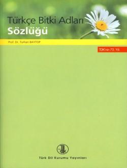 Türkçe Bitki Adları Sözlüğü, 2015