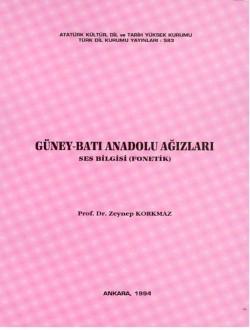 Güney-Batı Anadolu Ağızları: Ses Bilgisi (Fonetik), 1994