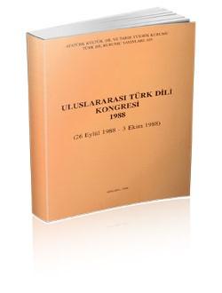 Uluslararası Türk Dili Kongresi (1988), 1996