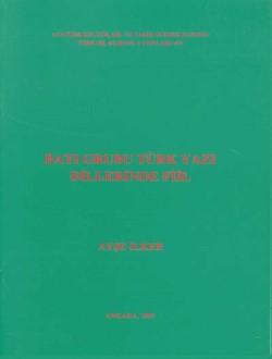 Batı Grubu Türk Yazı Dillerinde Fiil, 1997