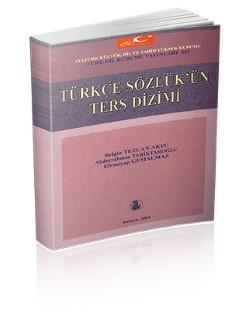 Türkçe Sözlük'ün Ters Dizimi, 2004